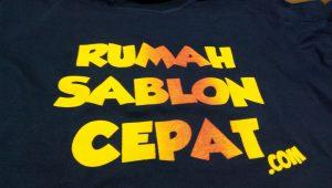 sablon discharge