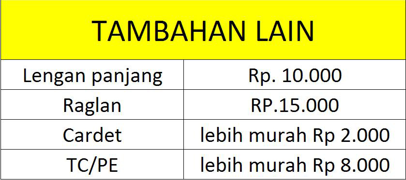 TAMBAHAN